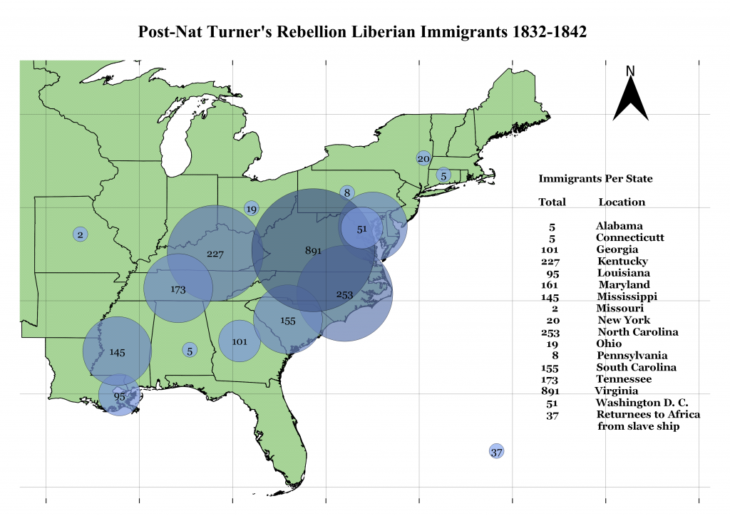 Dan Degges Liberian Immigration map 2
